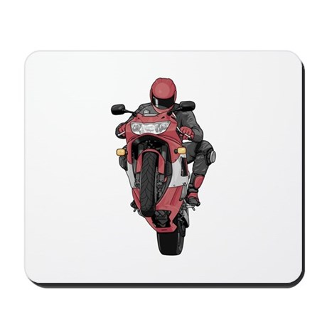 Extreme Sports Motorcycle Racer Mousepad