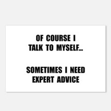 Expert Advice Postcards (Package of 8)