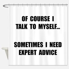 Expert Advice Shower Curtain