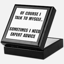 Expert Advice Keepsake Box