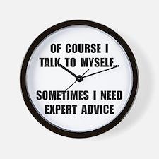 Expert Advice Wall Clock