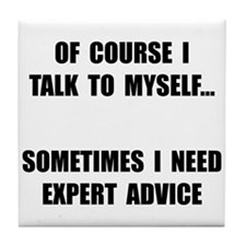 Expert Advice Tile Coaster