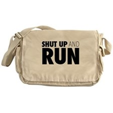 Shut up & Run Messenger Bag