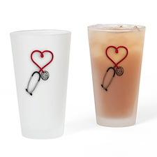 Nurses Have Heart Drinking Glass