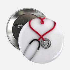 """Nurses Have Heart 2.25"""" Button"""