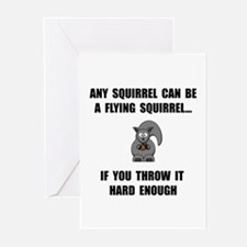 Flying Squirrel Greeting Cards (Pk of 20)