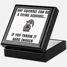 Flying Squirrel Keepsake Box