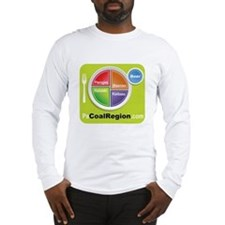 Coal Region Food Groups Long Sleeve T-Shirt