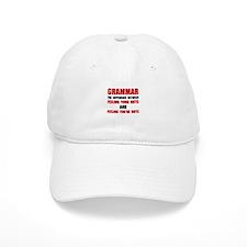 Grammar Nuts Baseball Baseball Cap