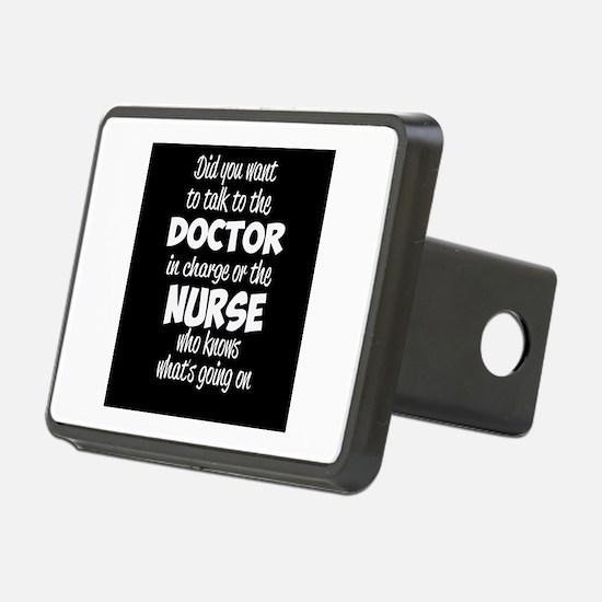 Nurse Humor Hitch Cover