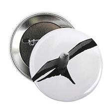"""Swallow-Tailed Kite 2.25"""" Button"""