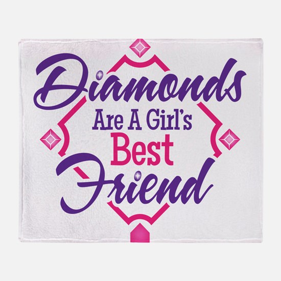 Diamonds Throw Blanket