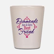 Diamonds Shot Glass