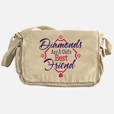 Diamonds Messenger Bag