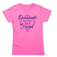 Diamonds Girl's Tee