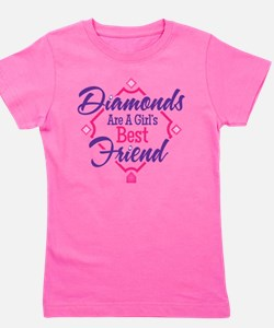 Diamonds Girl's Tee