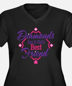 Diamonds Plus Size T-Shirt