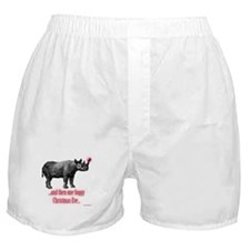 Cute Rudolph Boxer Shorts