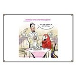 Typical Parrot Dining Banner