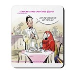 Typical Parrot Dining Mousepad