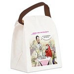Typical Parrot Dining Canvas Lunch Bag
