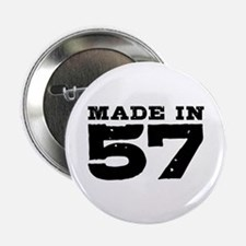 """Made In 57 2.25"""" Button"""
