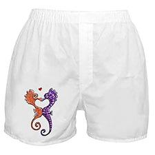 Sea Horse Kiss Boxer Shorts