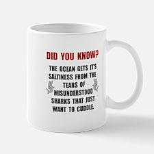 Sharks Cuddle Mug