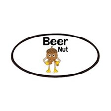 Beer Nut Text Patches