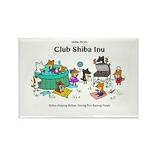 Club Shiba Inu Magnets