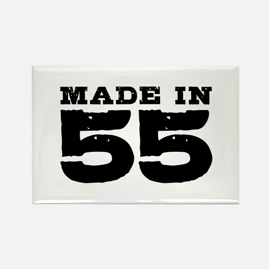 Made In 55 Rectangle Magnet