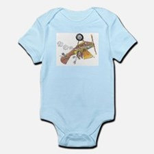Hands Free Biplane Infant Bodysuit
