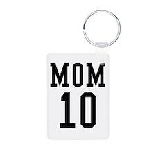Mom of 10 Keychains