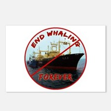 End Whaling Forever Postcards (Package of 8)