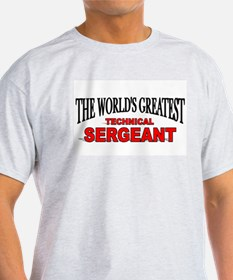 """""""The World's Greatest Technical Sergeant"""" Ash Grey"""