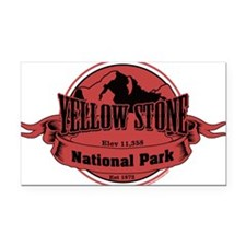 yellowstone 3 Rectangle Car Magnet