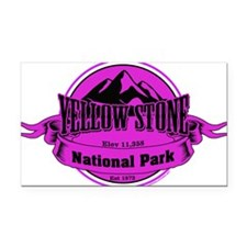 yellowstone 4 Rectangle Car Magnet