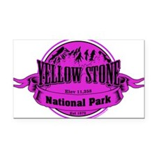 yellowstone 2 Rectangle Car Magnet