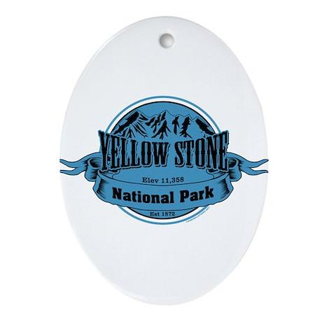 yellowstone 1 Ornament (Oval)