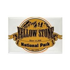 yellowstone 2 Rectangle Magnet
