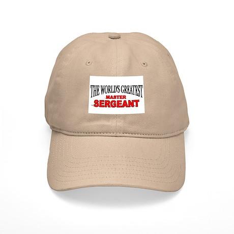 """The World's Greatest Master Sergeant"" Cap"