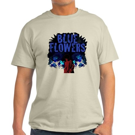 Dr. Octagon Blue Flowers T-Shirt