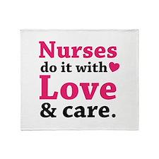 Nurses do it with love & care. Stadium Blanket