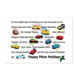 Microcar Postcards (Package of 8)