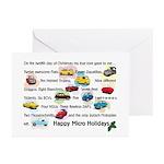 Microcar Greeting Cards (Pk of 10)