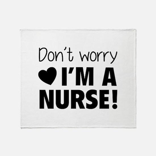 Don't worry - I'm a nurse! Stadium Blanket