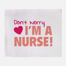 Don't worry - I'm a nurse! Stadium Blanket