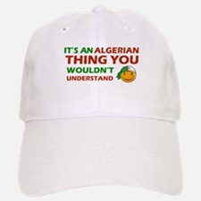 Algerian smiley designs Baseball Baseball Cap