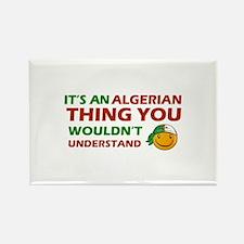Algerian smiley designs Rectangle Magnet