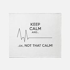 Keep calm and... Ok, not that calm! Stadium Blanke
